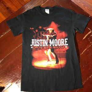 $4 with purchase!  Justin Moore Concert T-Shirt